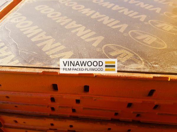 Cốp pha phủ phim VINAWOOD - Ứng dụng
