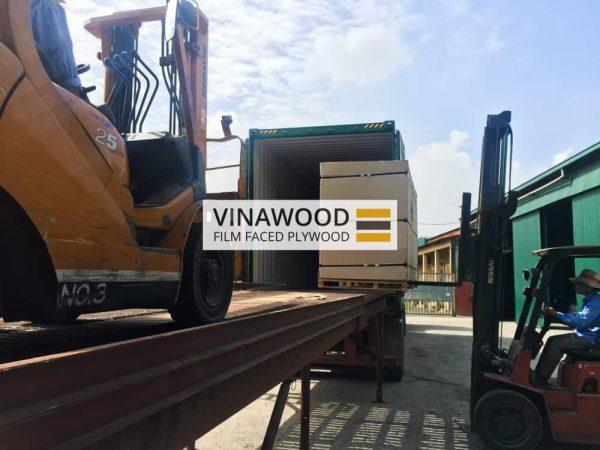 Cốp pha phủ phim VINAWOOD - Đóng gói hàng