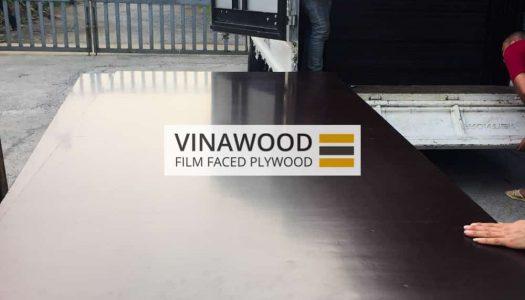 Cốp pha phủ phim VINAWOOD - Đóng kiện, lên cont